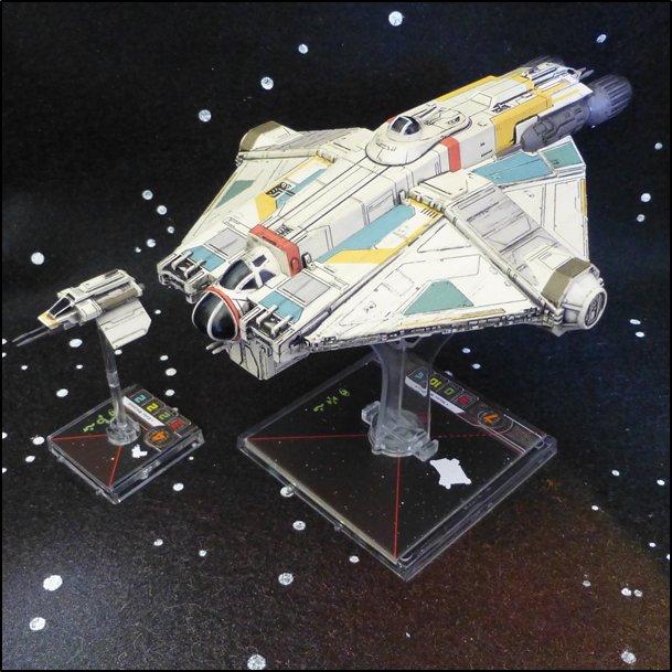 Le Jeu de Figurines Chasseur TIE de Sabine FR EDGE FFG X-Wing